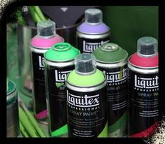 FREE Liquitex Professional Spray Paint samples!