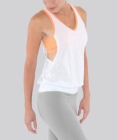 Lulumon - esque Peek a Boo Workout Yoga Top