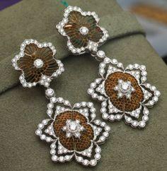 Gorgeous Diamond Earrings Buccellati-Milan-Jewelry-