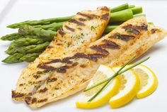 Grilled fish with a little taste of oranges #HCGdietplans