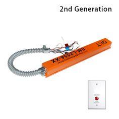 8 emergency backup for led fixture