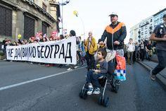 Protest 'Čiji grad' očima našeg fotografa
