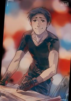 """""""Hey Marco, say cheese! """" Another from this AU - click Attack On Titan Jean, Attack On Titan Anime, Blue Springs Ride, Wattpad, Look At The Stars, Cute Friends, Ereri, Freelance Illustrator, Tag Art"""