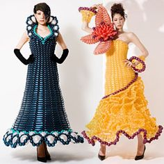Balloon dresses...