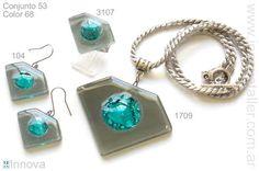 Bijouterie de vitrofusion - conjuntos - sets - Innova