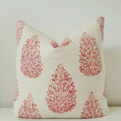 John Robshaw Pillow Cover 18x18, 20x20 Square Throw Pillow, Accent Pillow, Toss Pillow 16 22 24 26 Euro