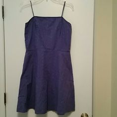 3 For $10. Periwinkle Eyelet A-Line Lined Dress
