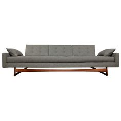 Craft Associates Walnut Gondola Sofa by Adrian Pearsall