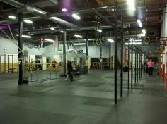 Awesome Crossfit gym in USA