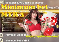 Minimum bet MYR 3 at the Live Table in Malaysia Online Casino! Hurry and visit us! Do not miss this chance and wager in all our features games! Casino Bet, Top Casino, Casino Sites, Live Casino, Best Online Casino, Best Casino, Open Browser, Online Lottery, Play Casino Games