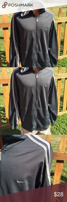 Nike Mens Warm Up Hoodie Jacket Size XL Size xl. Super gently preowned. Dark heather grey. Be sure to view the other items in our closet. We offer both women's and Mens items in a variety of sizes. Bundle and save!! Thank you for viewing our item!! Nike Jackets & Coats Lightweight & Shirt Jackets