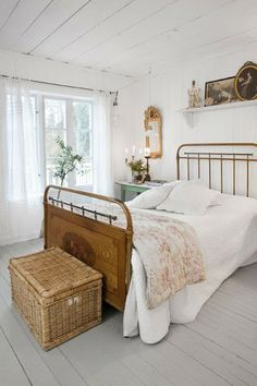 White country bedroom