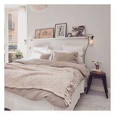 >> bom dia!  #besimple #design #bedroom #morning #interiordesign #simplicity