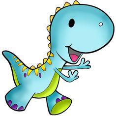 Dibujos de dinosaurios chistosos a colores - Imagui