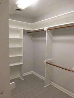 walk-in closet layout