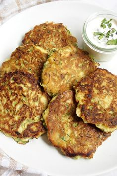 Try this easy recipe for delicious Courgette fritters. These are the perfect for a quick lunch or picnic.