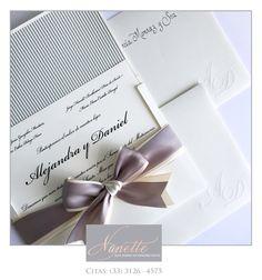 Doble moño, increíble para hacer mas lindas y modernas tus invitaciones !!!