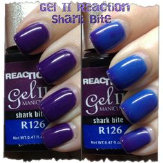 3d287352459 gel 2 reaction swatches - Google Search Mood Nail Polish
