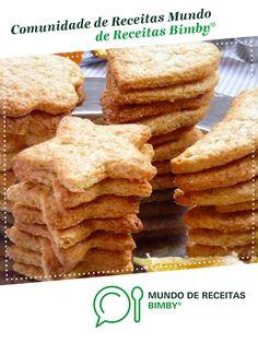 Biscoitos de Laranja e Mel de PedroVal. Receita Bimby<sup>®</sup> na categoria Bolos e Biscoitos do www.mundodereceitasbimby.com.pt, A Comunidade de Receitas Bimby<sup>®</sup>. Apple Pie, Quiche, Biscuits, Cereal, Pasta, Sweets, Cookies, Breakfast, Desserts