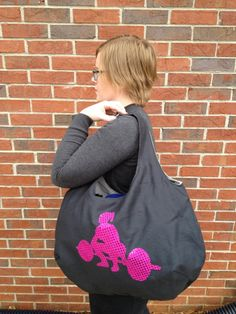 Crossfit Women Jumbo Gym Tote Bag by SparePatchProducts on Etsy