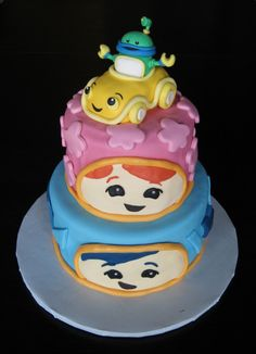 Custom Cakes by Julie: Team Umizoomi Cake