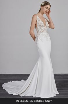 4d5397149e7d4 181 Best 1920′s, Great Gatsby, Old Hollywood Glamour Wedding Dresses ...