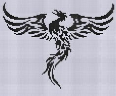 Looking for your next project? You're going to love Phoenix 2 Cross Stitch Pattern by designer Motherbeedesigns.