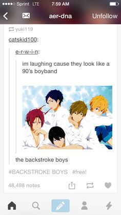 The Backstroke Boys. I would listen to this band ALL the time!!!!!!!!!!!!!!