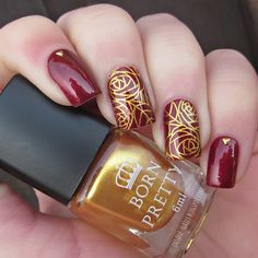 inSANEnails: Matching Manicures - Red Nails