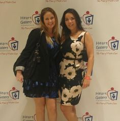 """JMF supports charities! Our very own Joni and Alexis attended the Heart Gallery """"Eat Your Heart Out"""" event on Thursday."""