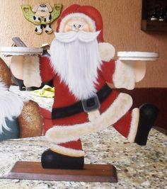 Eliane Artesanato: Noel porta velas