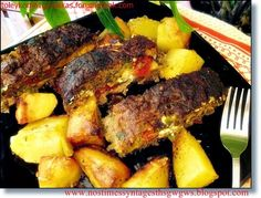 Food recipes with step by step photos from preparation,ideal for novice cookers English Food, English Recipes, Greek Recipes, Oven Baked, Pot Roast, Steak, Beef, Baking, Ethnic Recipes