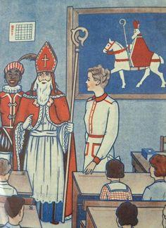 Sint en Piet in de klas