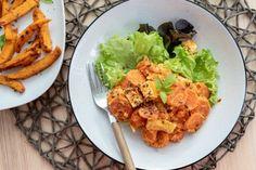 Zdravé recepty na obed a večeru | fitrecepty.sk Tempeh, Tofu, Health Diet, Cauliflower, Good Food, Food Porn, Food And Drink, Low Carb, Keto