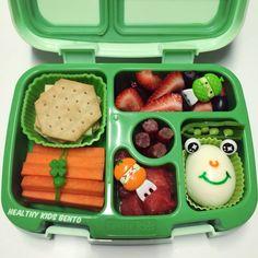 Lunch in the bentgo kids. Healthy Snacks For Diabetics, Super Healthy Recipes, Diet Snacks, Healthy Chicken Recipes, Healthy Foods To Eat, Healthy Baking, Healthy Kids, Yogurt Breakfast, Protein Packed Breakfast