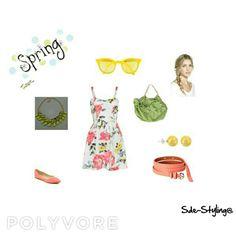 Outfit primaveral en el que impera la comodidad del vestido y las bailarinas!