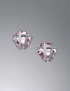 David Yurman lavender amethyst earrings.. ahhh so pretty! and my birthstone! WANT