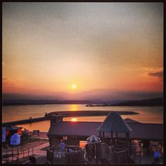 Beautiful sunset photo over Moonshine Beach at Table Rock Lake. Thanks for sharing @wild_wild_wes! #ItsMyShow #Branson