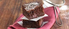 Double Chocolate Boysenberry Brownie