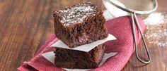 Double Chocolate Boysenberry Brownie