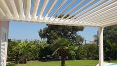 Although early within concept, a pergola may be having a modern day renaissance these days. Pergola Attached To House, Deck With Pergola, Outdoor Pergola, Pergola Shade, Backyard Patio, Covered Pergola, Pergola Diy, Curved Pergola, Covered Patios