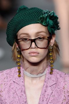 GUCCI Resort 2016 - Milan Collections #details #hat