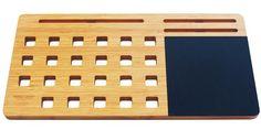 "Bamboo Lap Desk - Portable Workstation for 11 - 15"" Laptop"