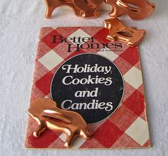 Vintage Better Homes and Gardens Holiday Cookies and Candies