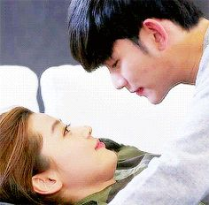 kim soo hyun my love from another star kiss