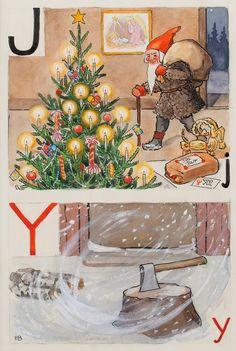 J-julgran och Y-yxa