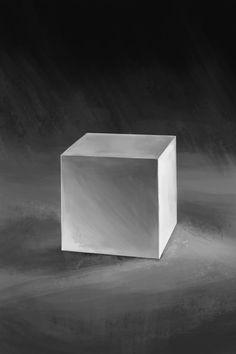 gypsum cube