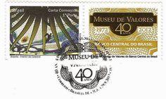 Selo Comemorativo aos 40 anos - Museu de Valores BCB