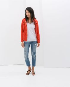 Image 1 of JACKET WITH POCKETS from Zara