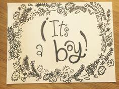 Cartel bienvenida recién nacido